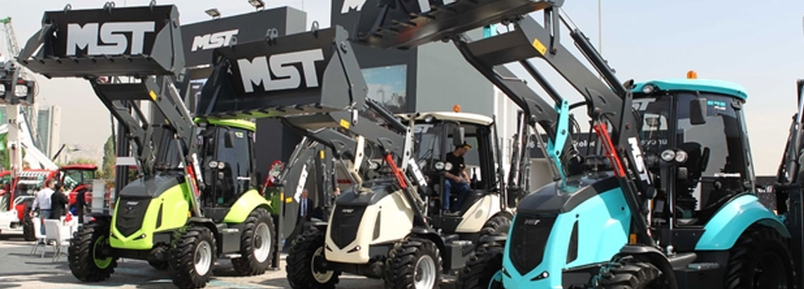 MST Work and Agricultural Machinery in KOMATEK Exhibition